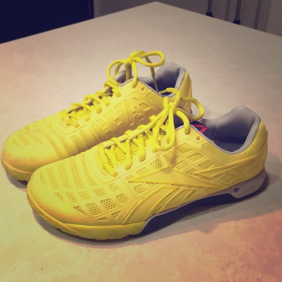 reebok crossfit yellow